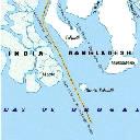 দক্ষিণ তালপট্টি দ্বীপ ভেঙ্গে  দিচ্ছে ভারত