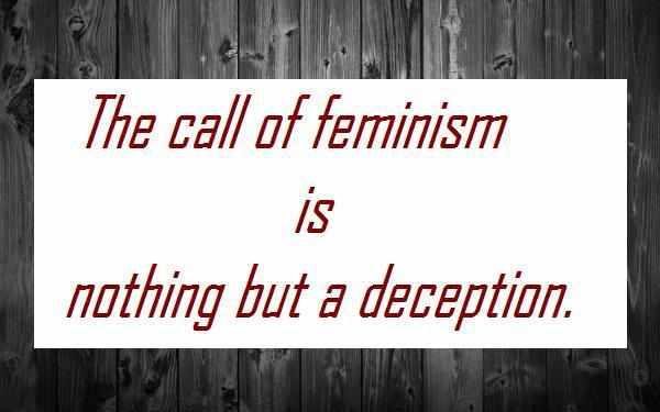 নারীবাদ : অধিকার না অত্যাচার?