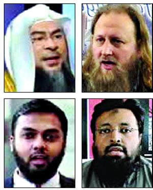 চার ইসলামী ব্যক্তিত্বের  বাংলাদেশ সফরে  নিষেধাজ্ঞা