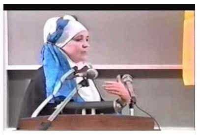 খৃষ্টধর্ম প্রাচারে গিয়ে নিজেই ইসলাম গ্রহণ করেন মার্কিন নারী আমিনা এসলিমি