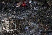 রোহিঙ্গাদের এক হাজারেরও বেশি বাড়ি ধ্বংস হয়ে গেছে