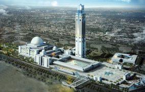 বিশ্বের তৃতীয় বৃহত্তম মসজিদ নির্মিত হচ্ছে আলজেরিয়ায়